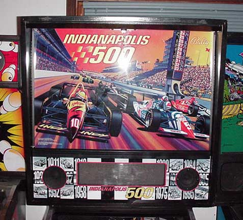 Auto Indy Racing on Indy 500 Williams 1995  Auto Racing  Pinball Style  Score Point